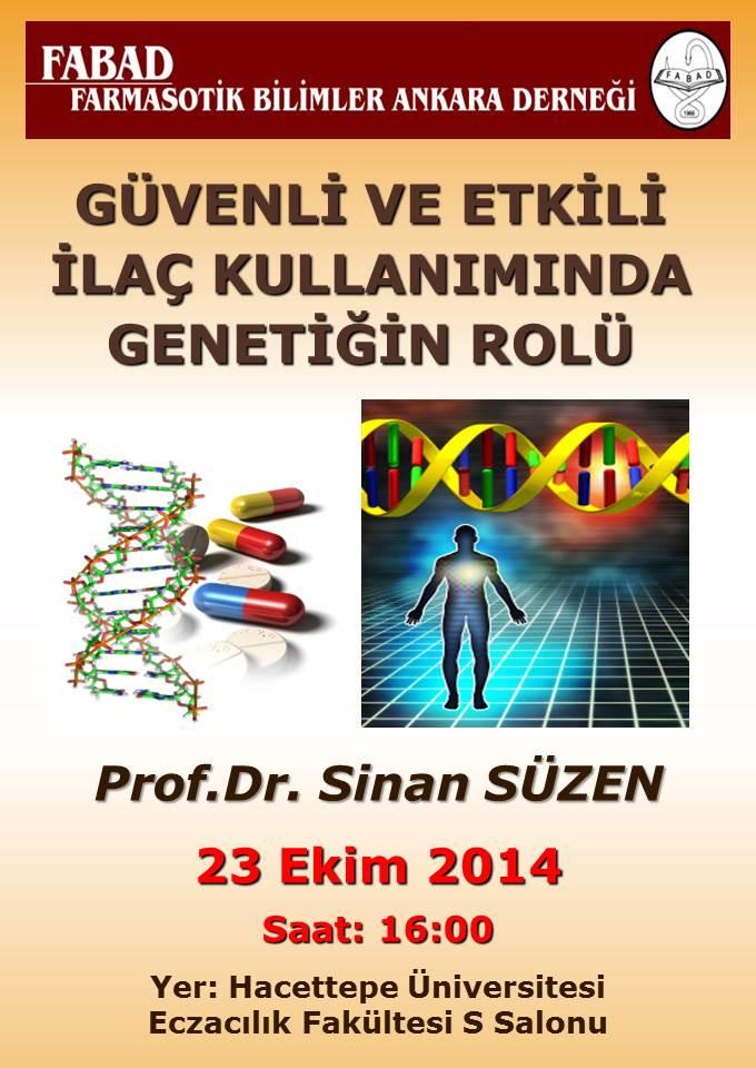 FABAD 1.KONFERANS prof.Dr.Sinan Su00FCzen